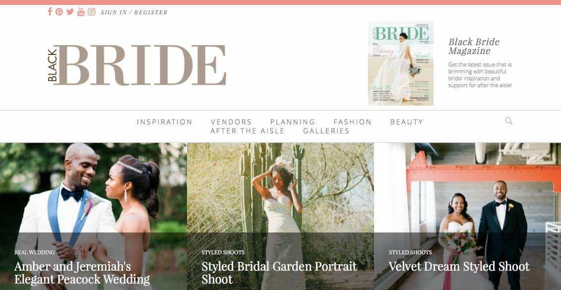 Black Bride | Bridal Garden Portrait Shoot