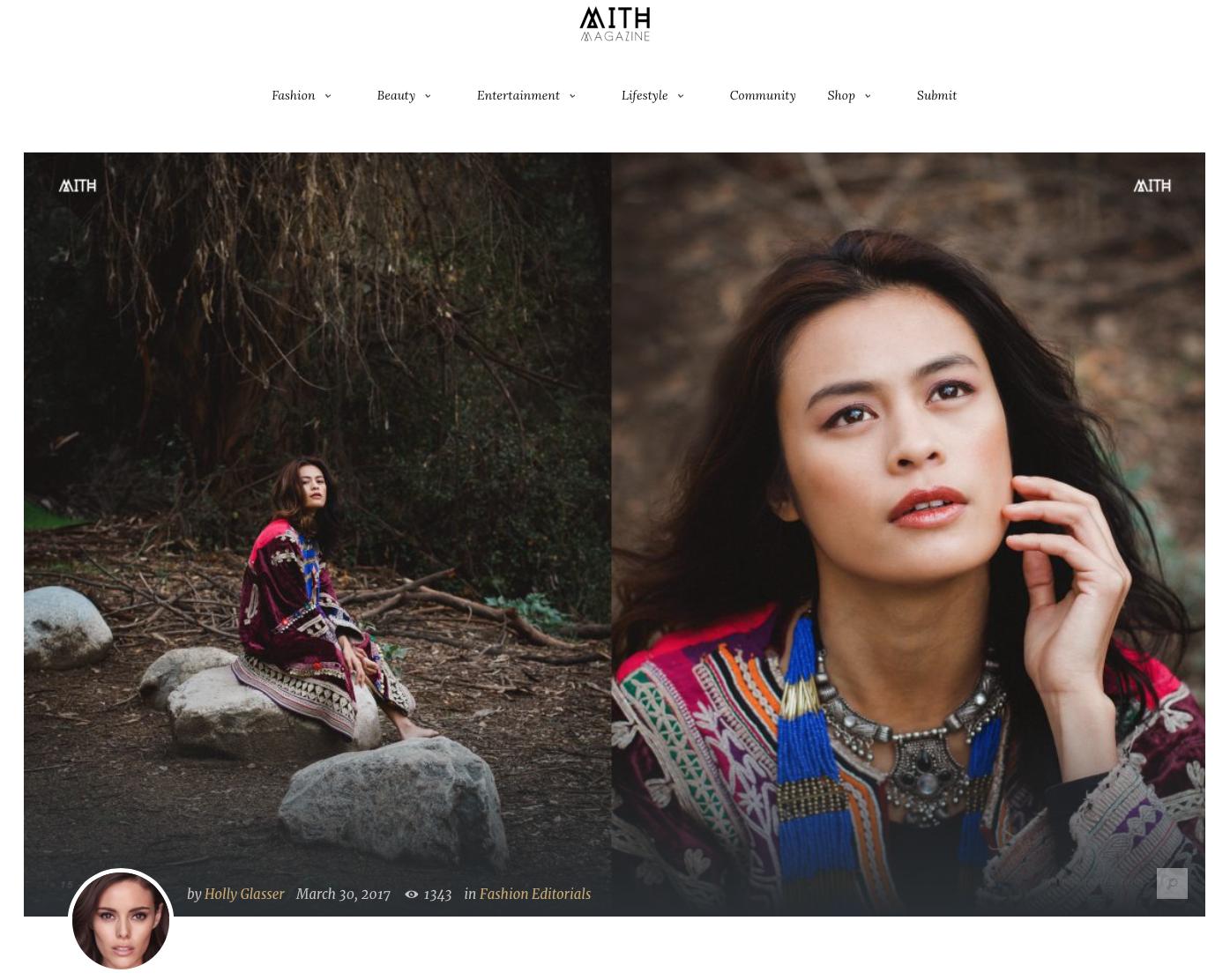 MITH Magazine | Fashion Editiorial