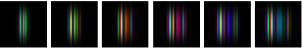 Fig 2: Reconstructed phase images. The power error has been reduced to well under 0.0001 for each image.