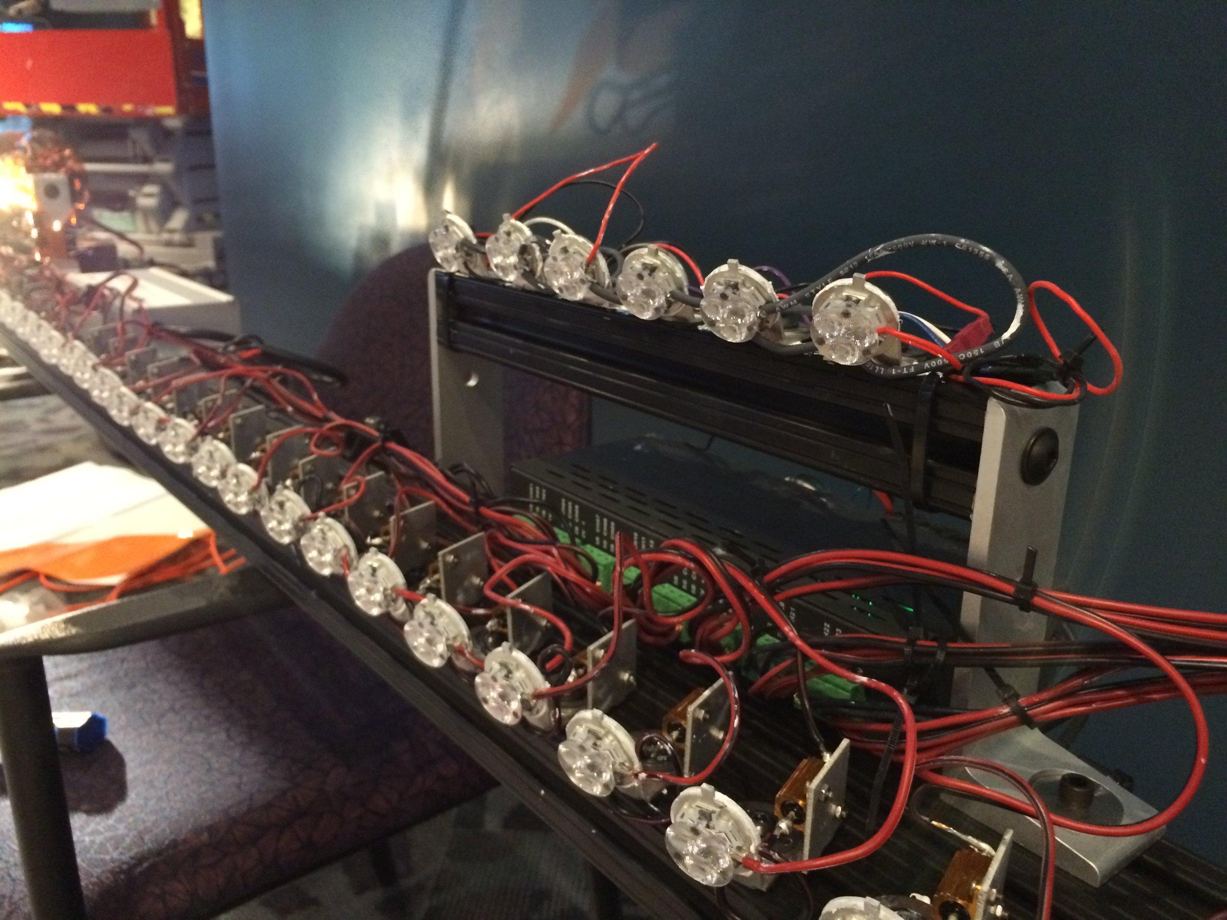 Programmable LED Light Bar