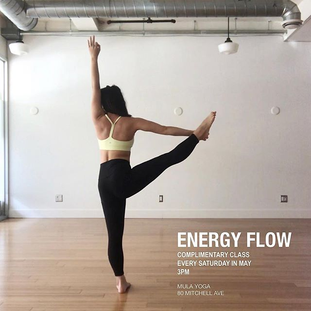 I am very honoured to be teaching complementary ENERGY classes every Saturday in the month of May at @mulayogato ! . . Just after 4 months into my yoga journey (May 2018), I discovered this gem in the heart of queen west! I still vividly remember my first day at the studio - I walked in knowing I was going to sign up for the intro promotion but I did not expect to take three classes back to back that same night. . . Instantly I was drawn to the studio - the teachers, the different types of classes offered and the community. Mula Yoga quickly became my home. The more I showed up for myself on the mat, the more I saw growth in my practice and within myself. . . I am going to be honest - I enrolled and completed my 200hr Vinyasa Teacher Training for my own personal growth. But the more I sat with it, the more I feel the need to share this love. . . When I reflect back on my journey so far - I think the most important take away for me is the power of determination to GROW🌱. With this in mind, anything is truly possible! You just have to put in the work! . . For the next 4 weeks, we will be building heat, working on strength & flexibility, flowing with our breath while moving to uplifting and energizing tunes! . . Saturday May 4 Saturday May 11 Saturday May 18 Saturday May 25 . . 3PM Mula Yoga  80 Mitchell Ave Sign up at the link in the profile ⬆️⬆️⬆️ . . . . . #mulafam #mulayoga #yoga #yogajourney #progressnotperfection #yogini #yogajourney #yogapractice #yogaeverywhere #yogaflow #flowyoga #vinyasa #vinyasaflow #mindfulmovement