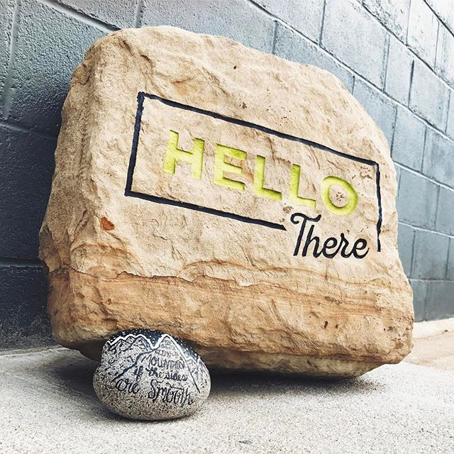 It looks like someone thought we were a fit for #918rocks, and a big one at that.