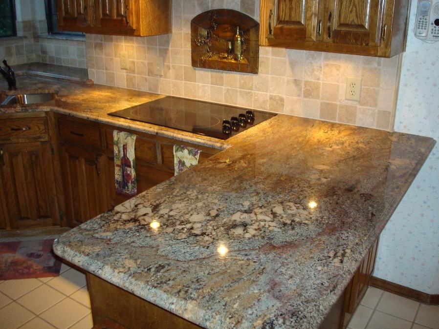 Granite counter-top