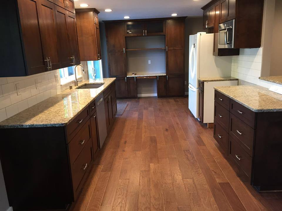 Home remodel we completed in 2015 with engineered flooring.