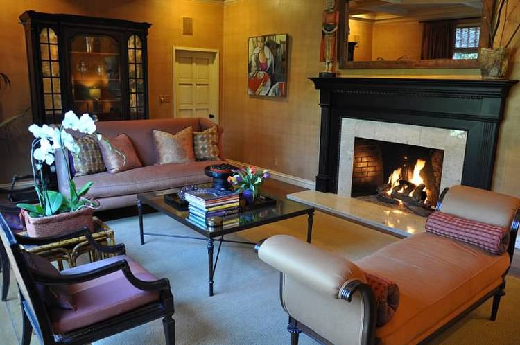 Colorfully Eclectic in Orinda
