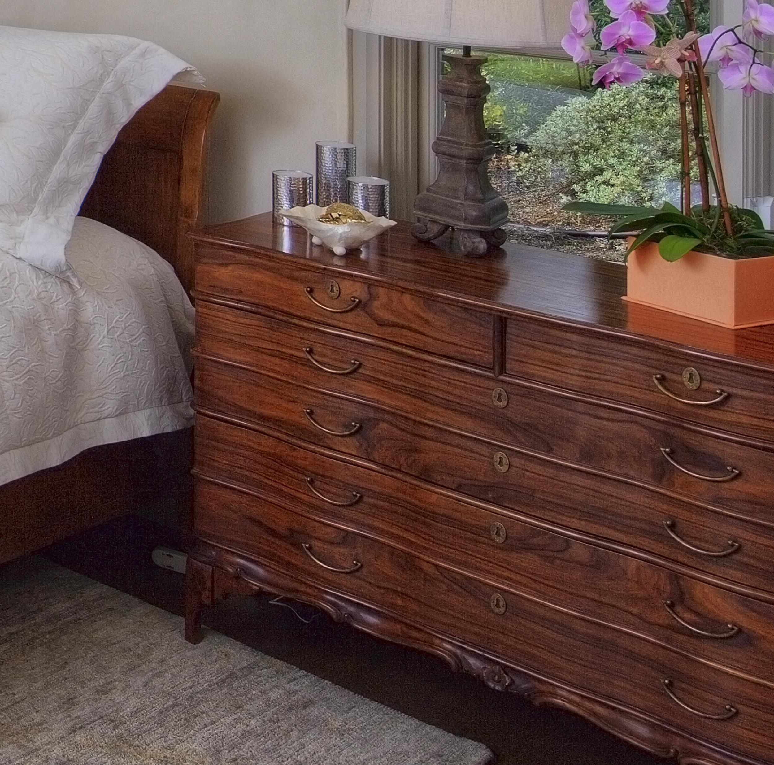 Master bed side dresser