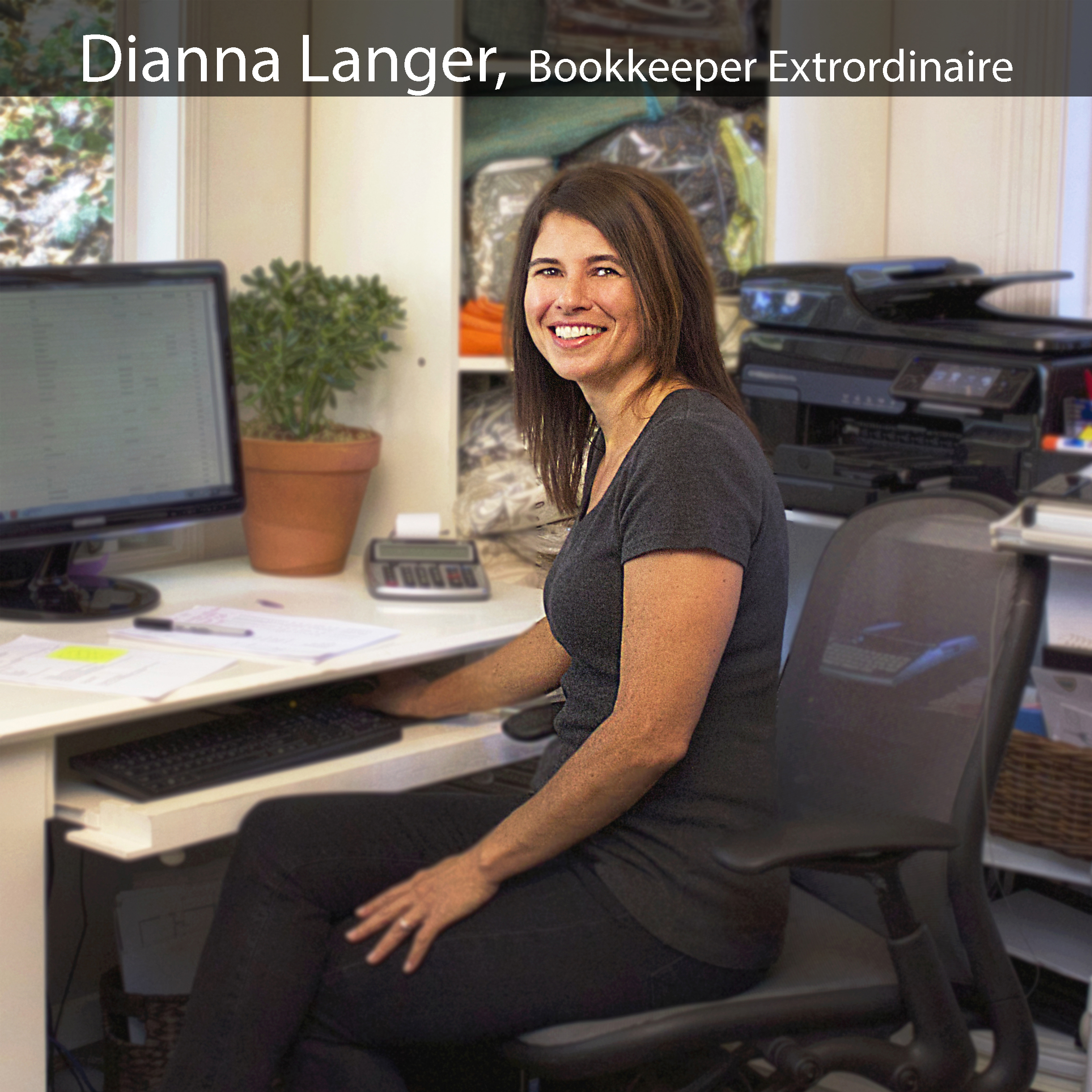 Dianna is our bookkeeper Extraordinaire. Any busy design team needs a talented back end assistant, and Dianna is precisely that for JBID. Hard working, focused, and on point.