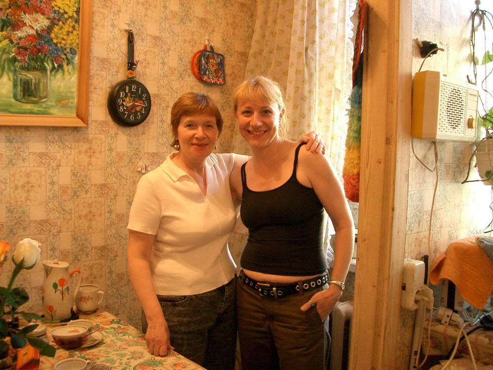 Yelena Volfovna and Jane Kindred
