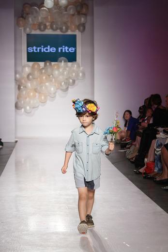 Custom Design for Stride Rite - VOGUE Bambini Petite Parade Runway Show