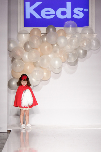 Custom Design for KEDS - VOGUE Bambini Petite Parade Runway Show