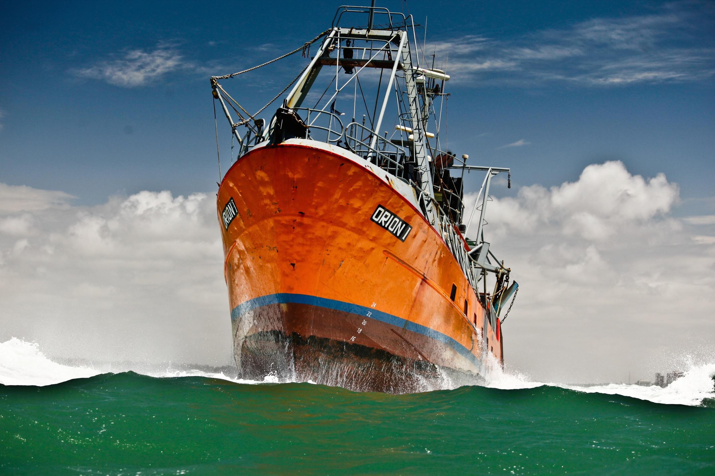 Orion I. Mar del Plata, Argentina. Photo by M. Cappizano