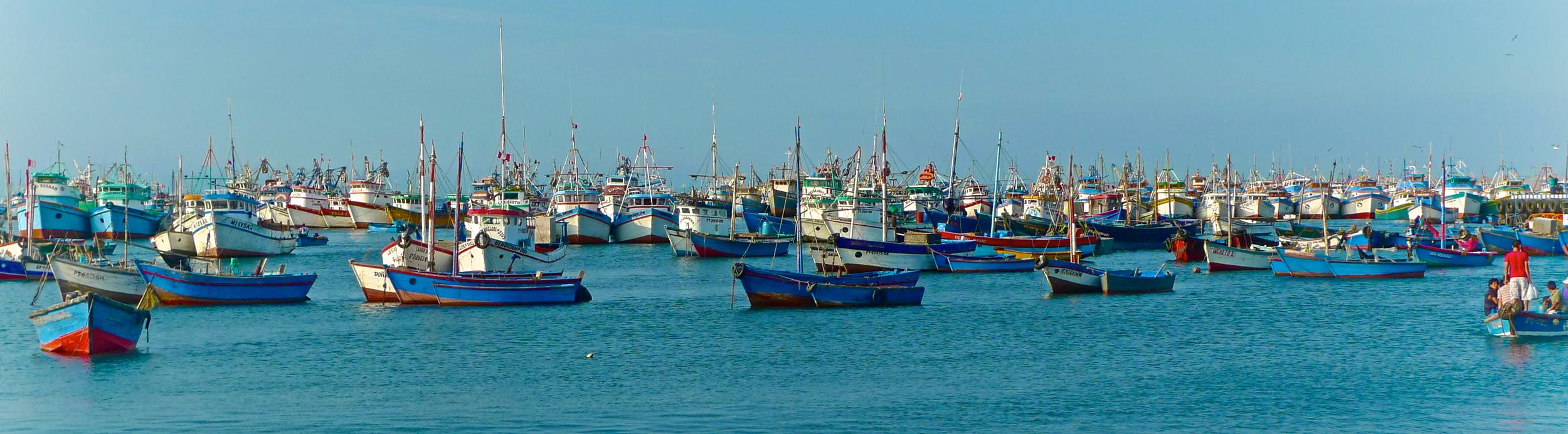 1 image, 10000 boats... Peru
