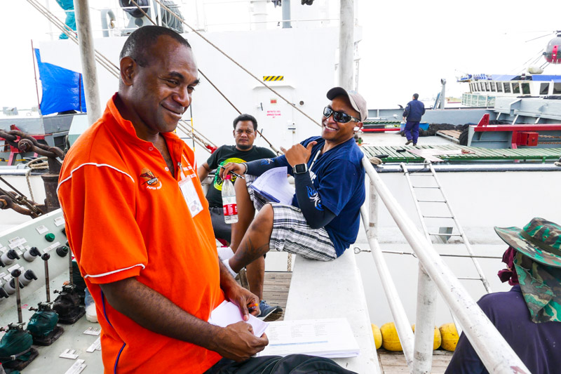 Catch monitors, mostly former or off duty observers... unsung heroes in fisheries