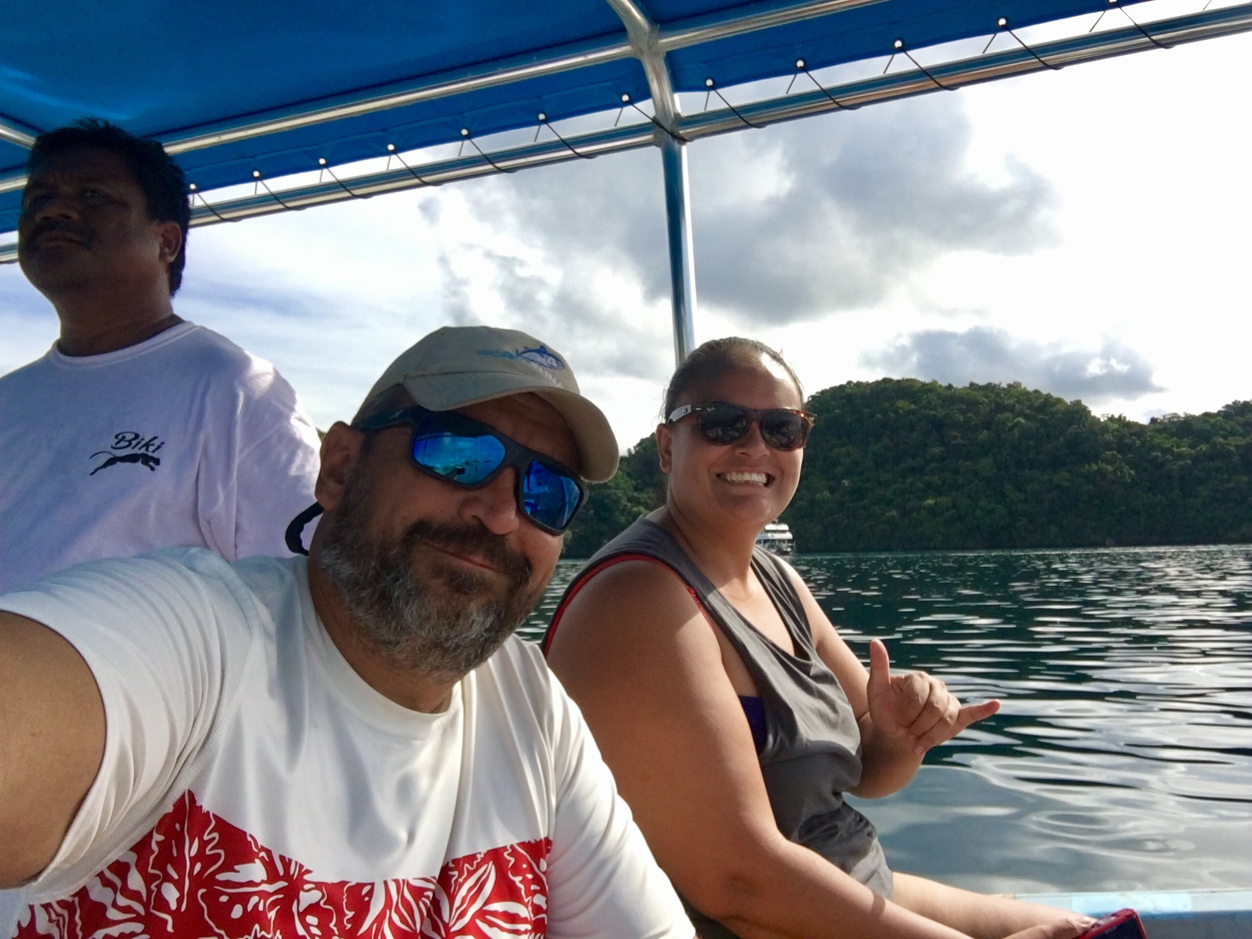 Working (yea for real) in Palau