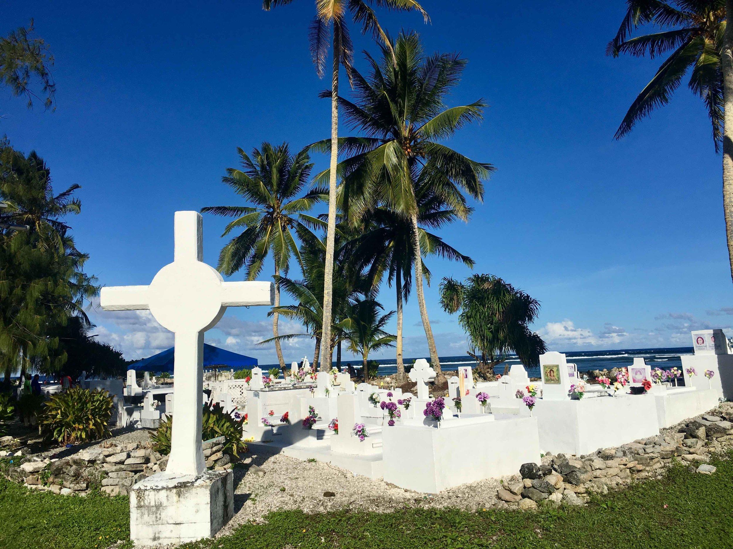 Graves in Majuro