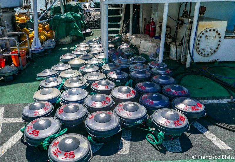 """each of these FAD sonar buoy has more """"definition"""" than best SIMRAD sonars on the boat that I was in the 90s"""