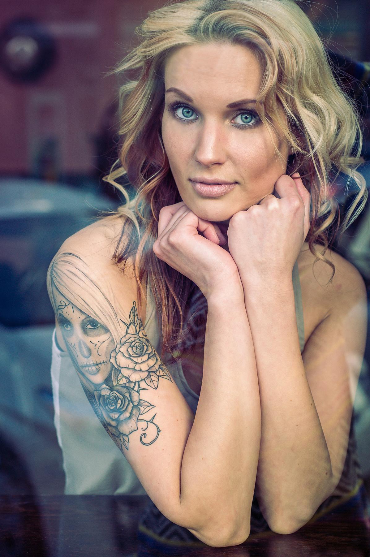 Model:  Megan Kendal