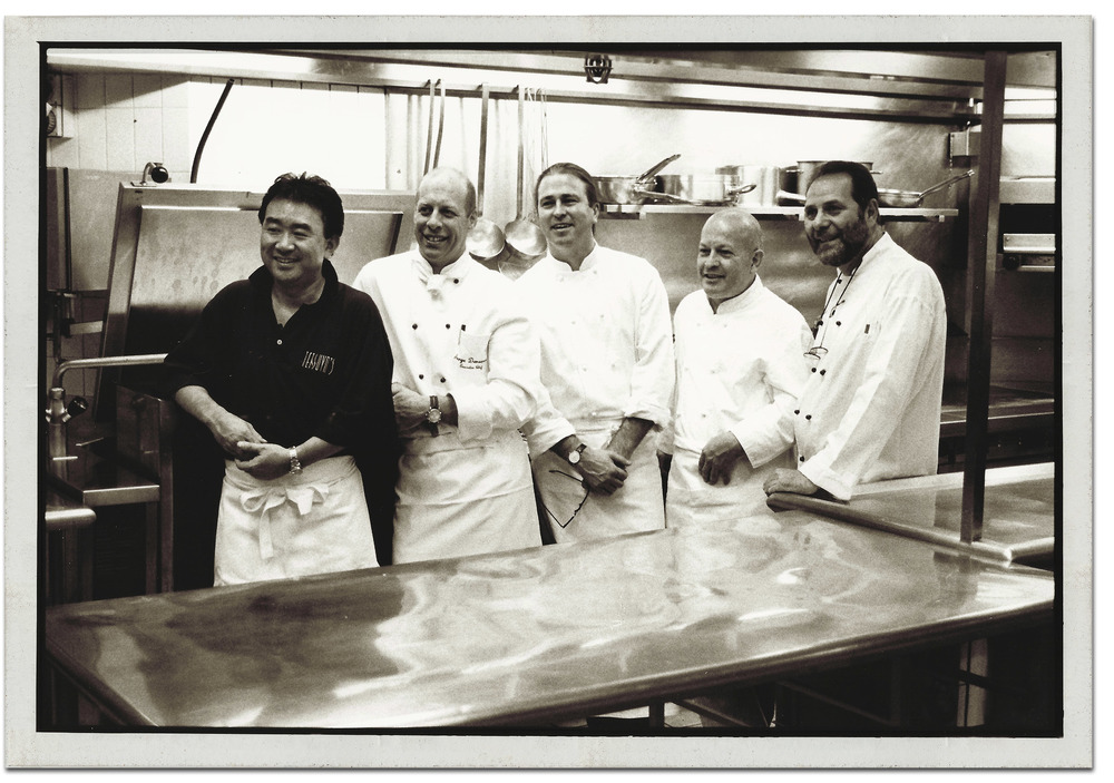 Tetsuya Wakuda, Serge Dansereau, Neil Perry, Janni Kyritsis and Armando Percuoco - The Original Starlight Five Chefs