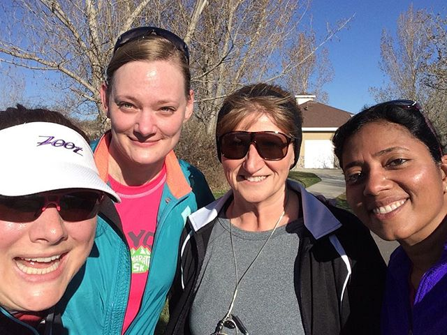 A small group ran a few miles in the end of hibernation pre-season run.  The official training starts May 7th.  #runningbuddy #run4fun #runwalkrun #gallowaymethod #slcgalloway #slc