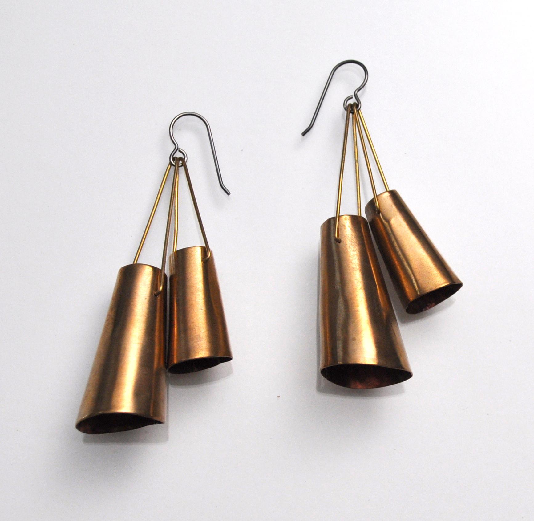 Double Bell Earrings