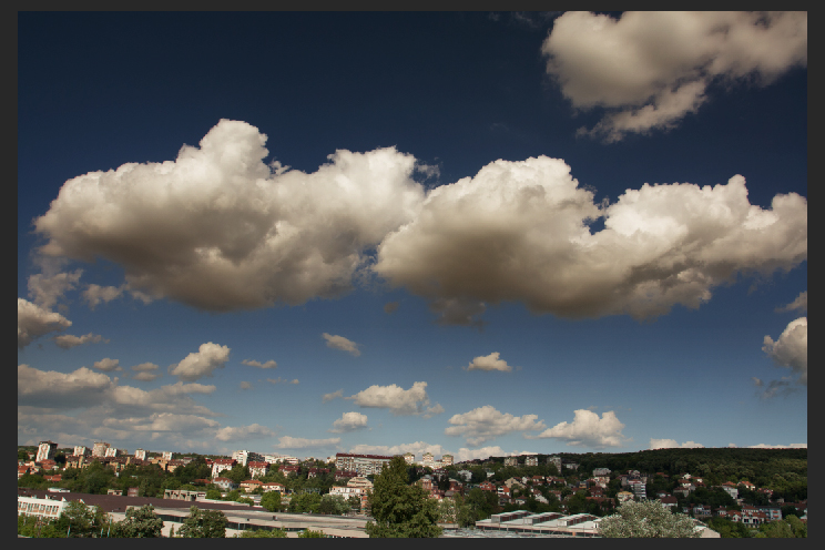 Nebo sa dva sloja mrke :)