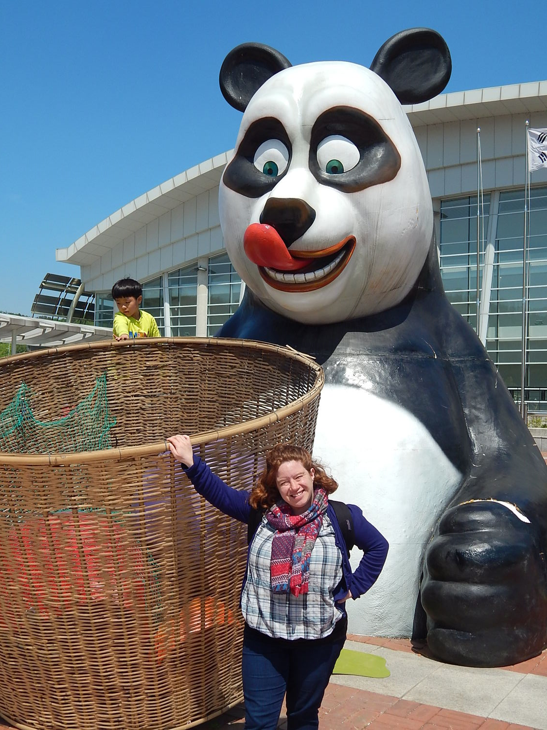 Sadly, the only pandas I saw were all fake.