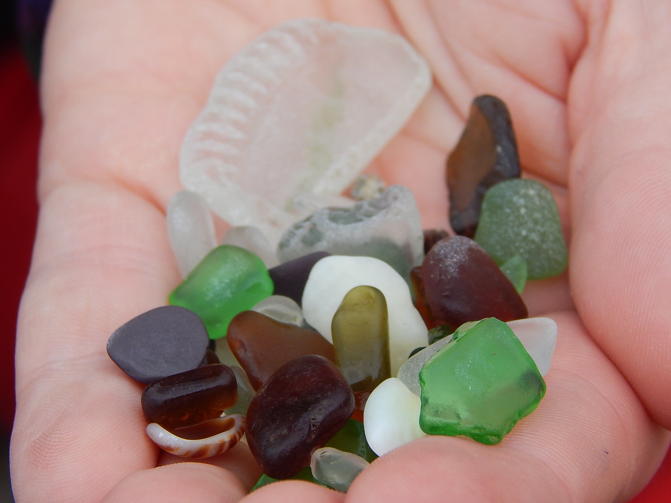 Collecting Sea-glass