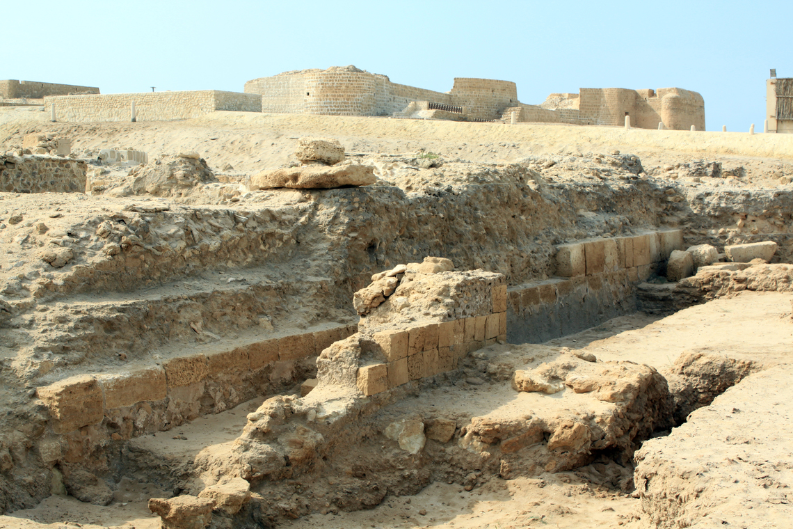 The Portuguese Fort near Seef
