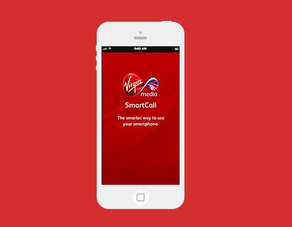 Virgin Media Smartcall app