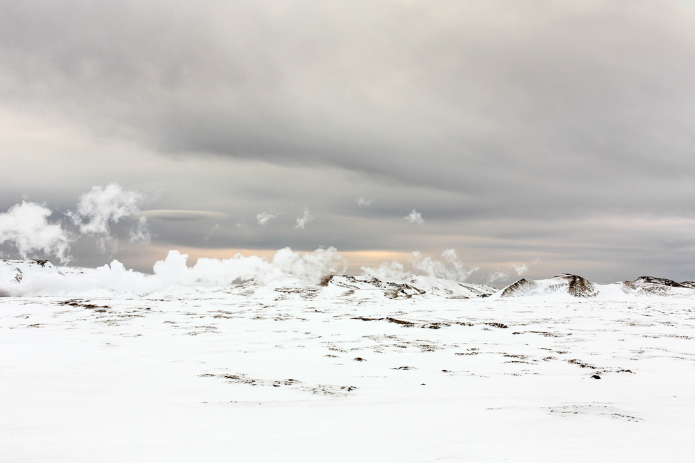 Steam on Snow (1), 2014