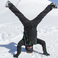 Mark Soulshine Snow Yoga Adventure Guest -  Click here for more photos
