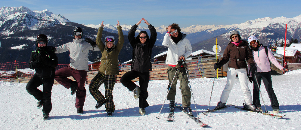 Soulshine Snow Yoga Adventure 2014's Guests -  Click here for more photos