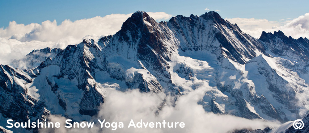 Invigorate your body and mind with an unforgettable week of skiing, snowboarding, yoga, meditation, breathtaking scenery, log fires, massages, saunas, delicious meals, hot chocolates, homemade cakes, new friends and snow, snow, snow on this  Soulshine Snow Yoga Adventure with Soulla.