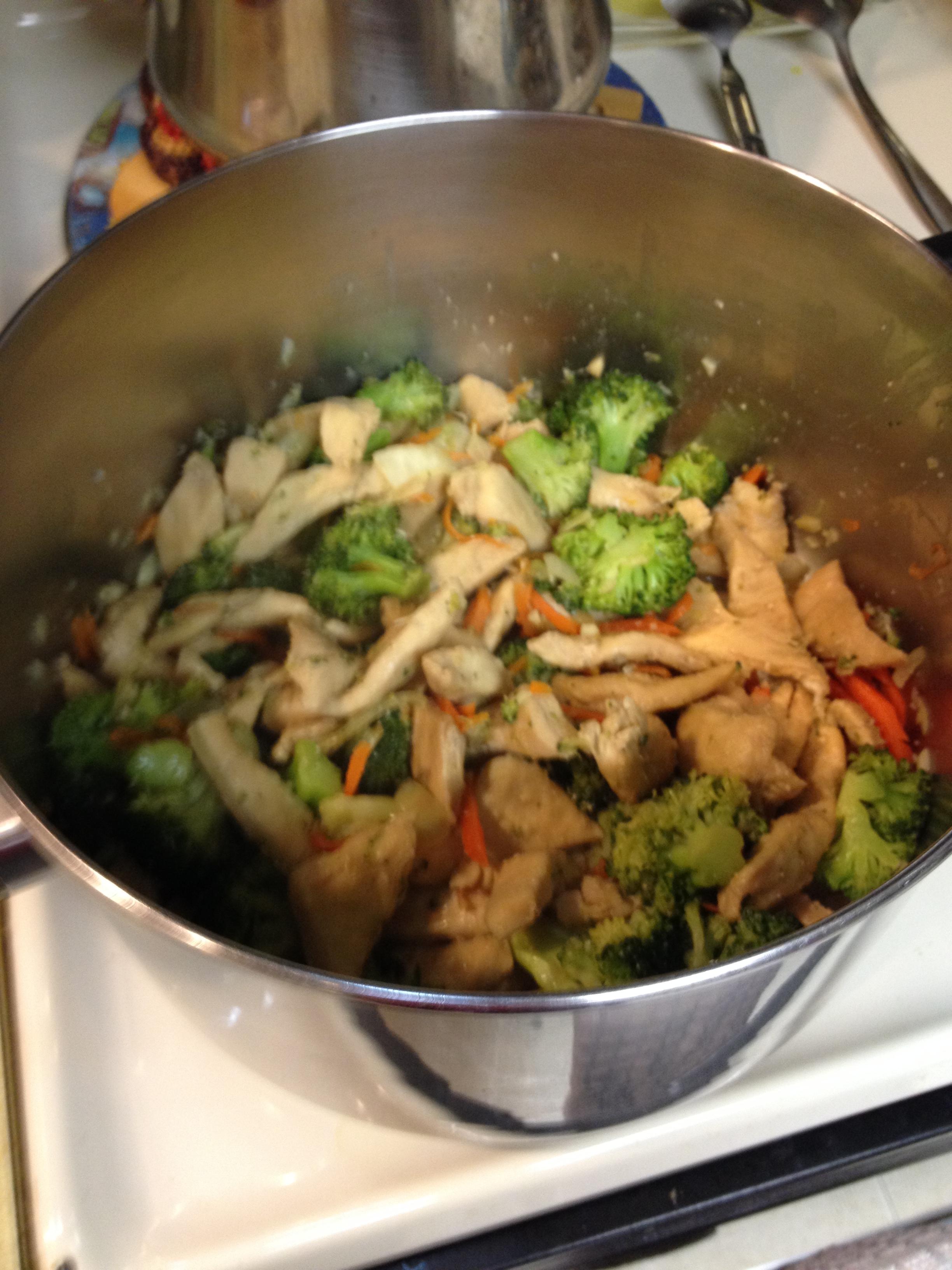 Homemade stir fry