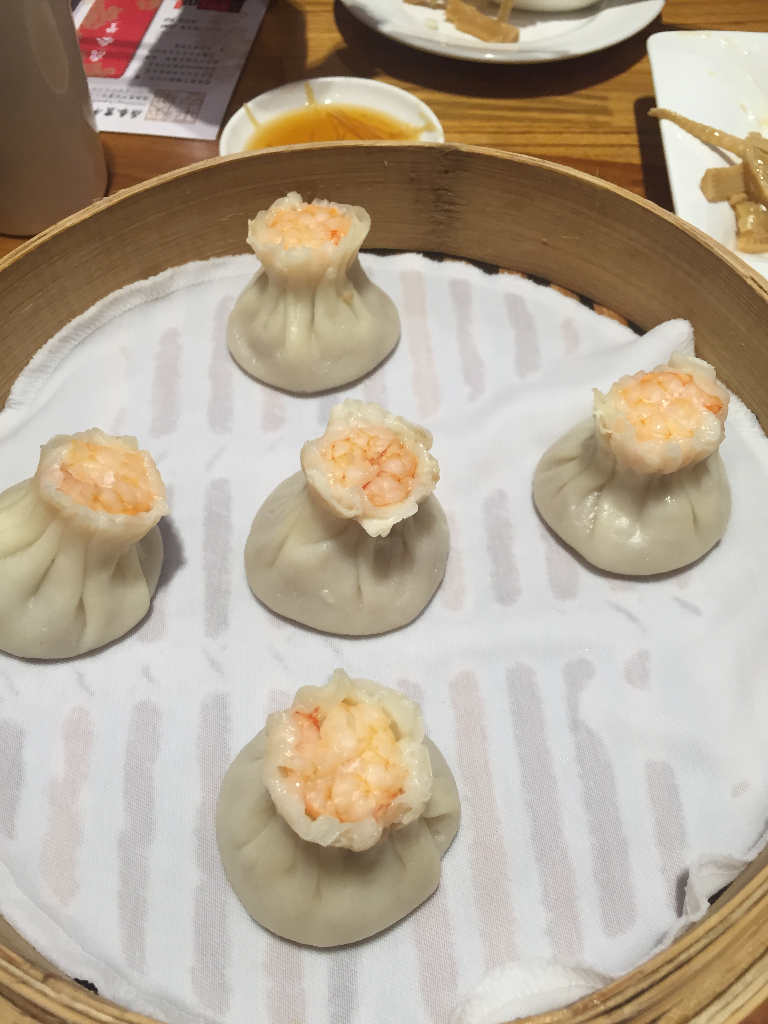 Not famous, but still really tasty shrimp dumplings.