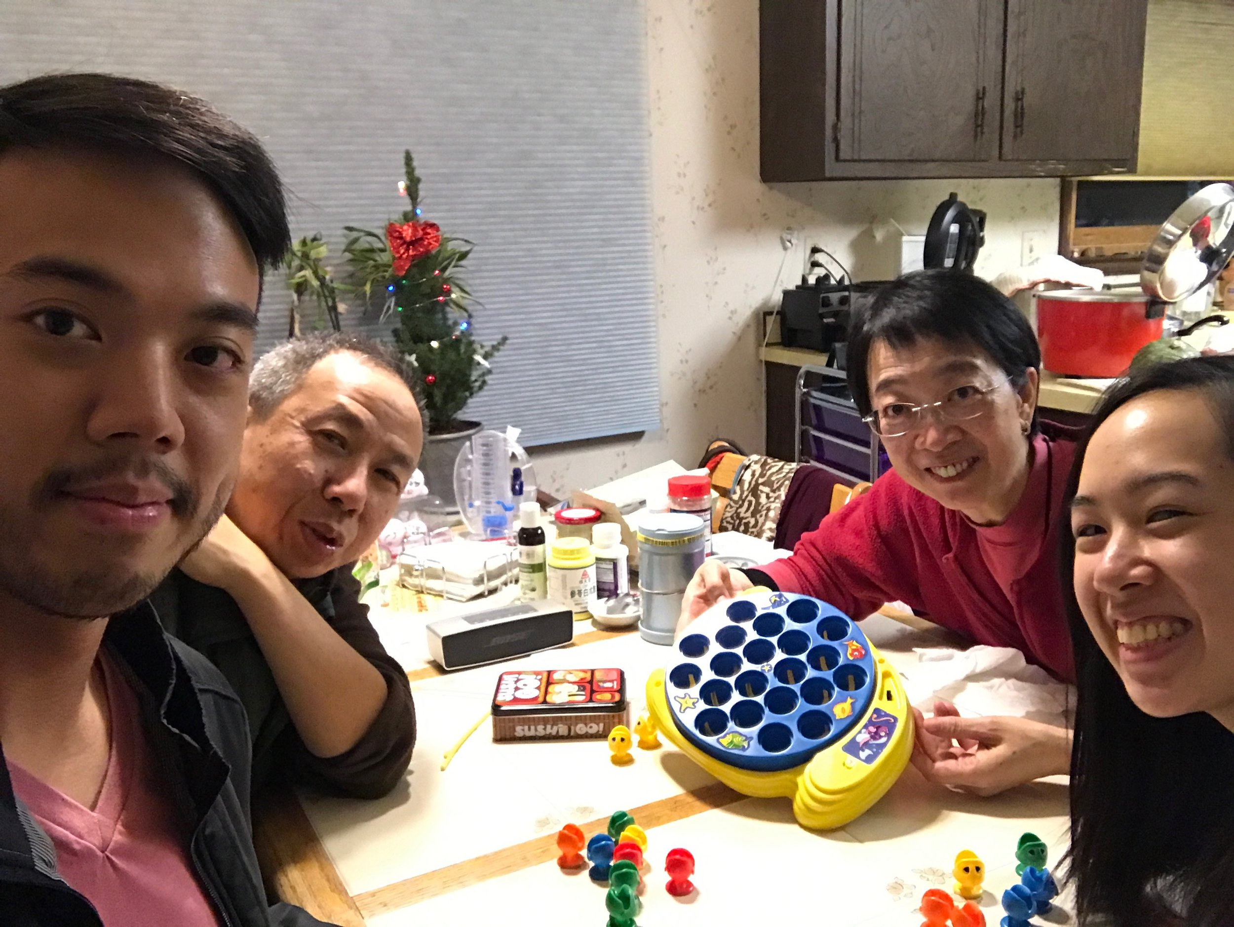 Family time on Christmas