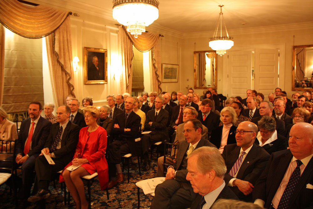 The Audience. (Courtesy UK High Commission)