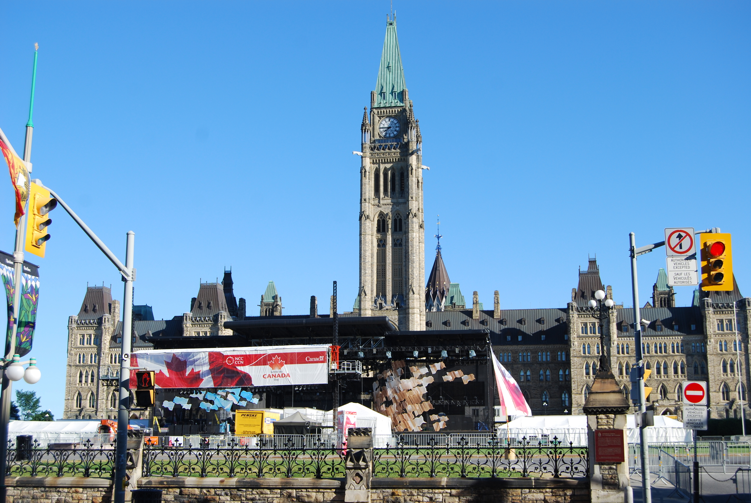 A lovely day for the December 30, 1941 speech to depart Canada's Parliament