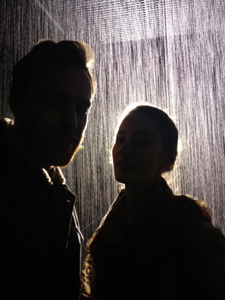 Rain Room. The Barbican.2013