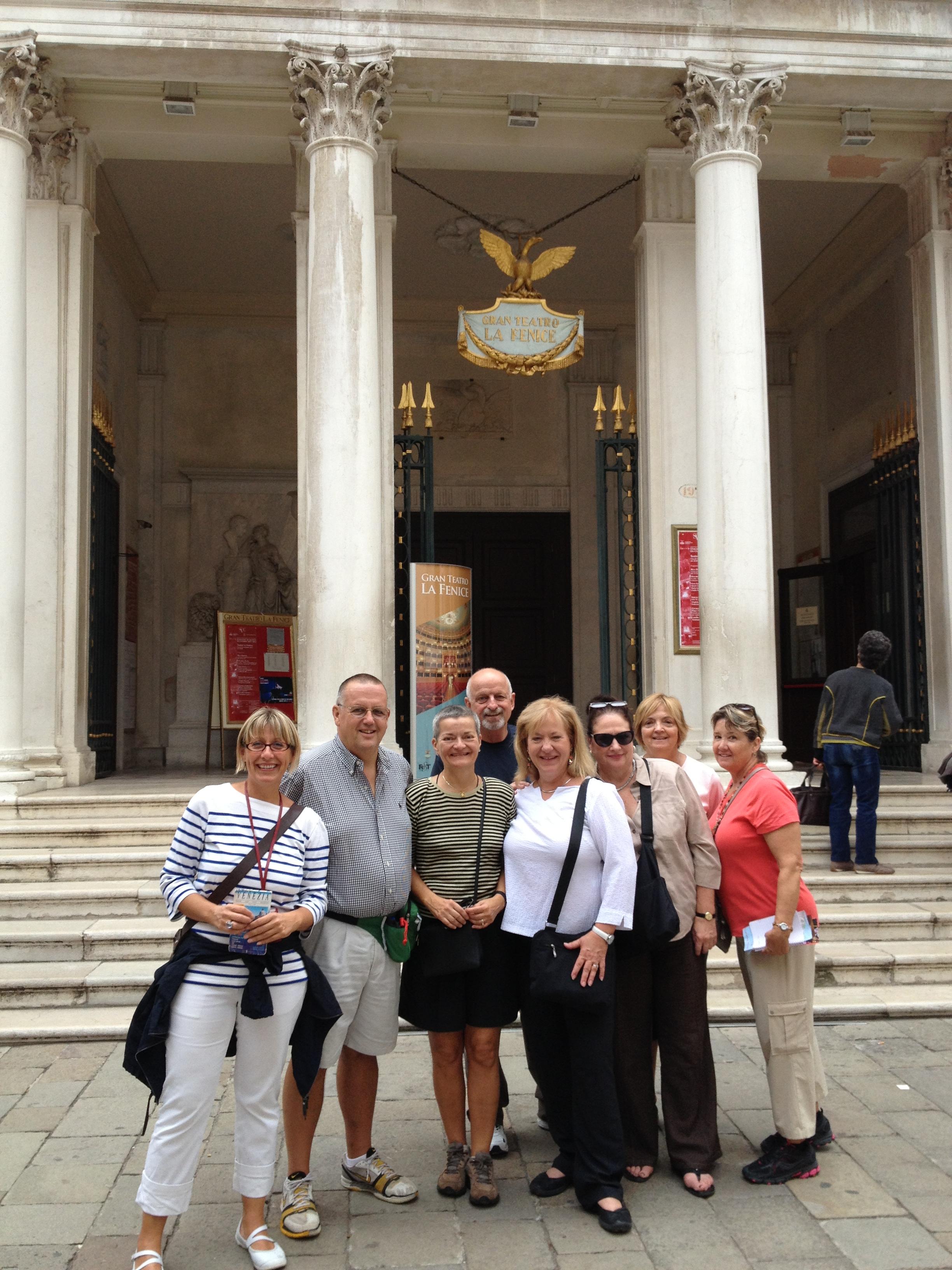 Sabrina, A Guide in Venice