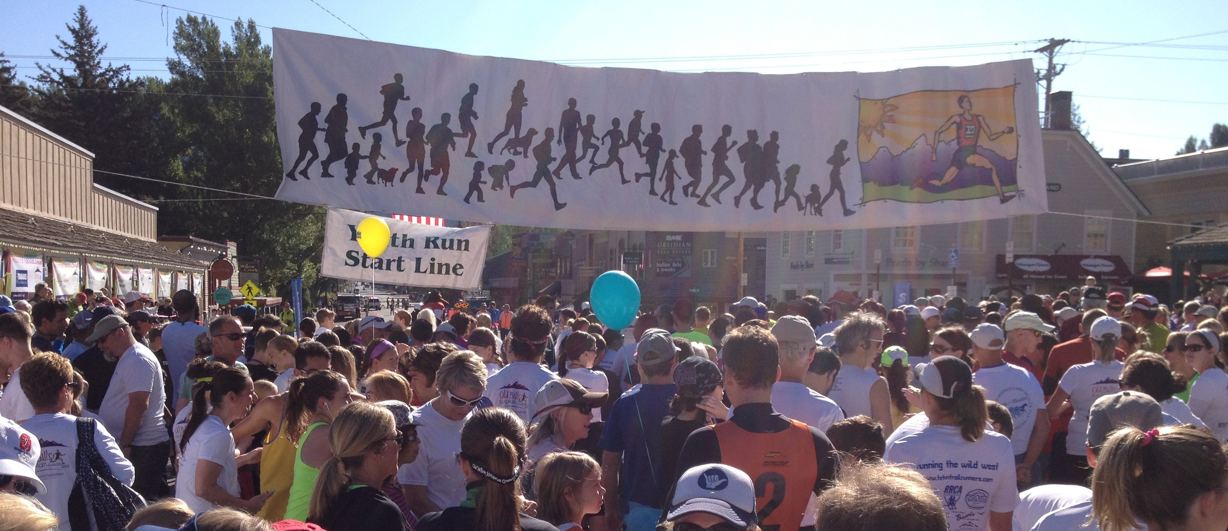 Old Bill's Fun Run, Jackson, WY