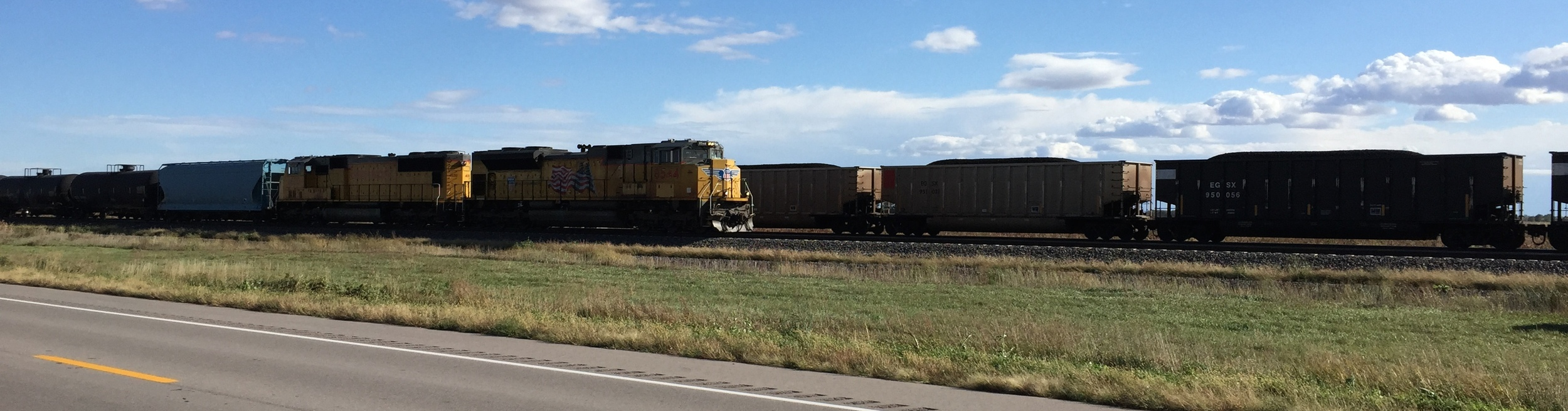 Trains Crossing
