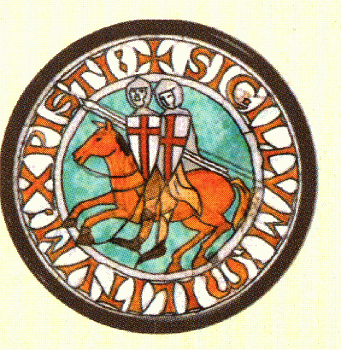 "Clues to codes are everywhere... hidden before our eyes.  ""Sigillum Militum Christi"" - The Seal of the Knights of Christ"
