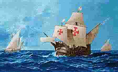 "Colombus sailed to the Americas with the Niña, the Pinta, and the Santa Maria ... but which ""Maria""???"