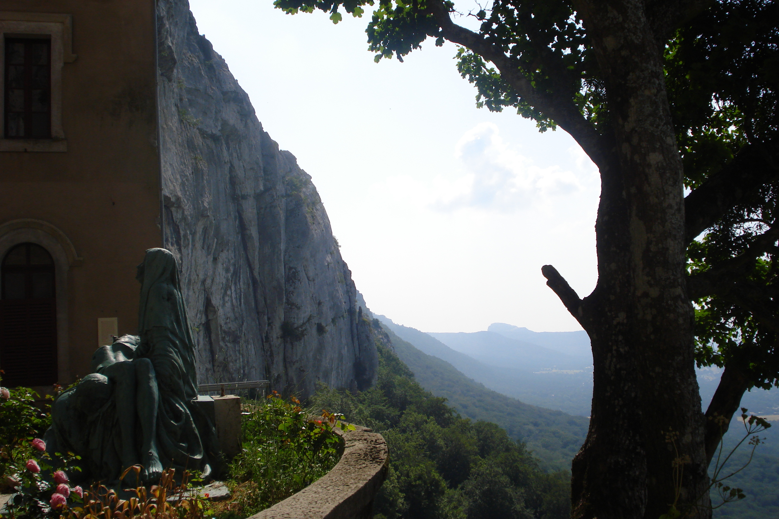 The grotto of Mary Magdalene at Ste. Baume in Southern France.