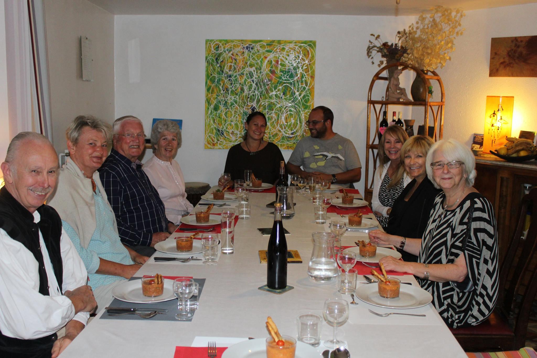 Group Dinner at Au Coeur de Rennes