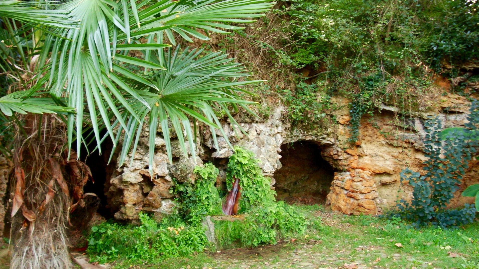 Campagne-les-Bains, France - Spring, Cave, and Palm.jpg