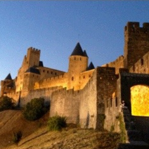 The medieval city of Carcassonne.
