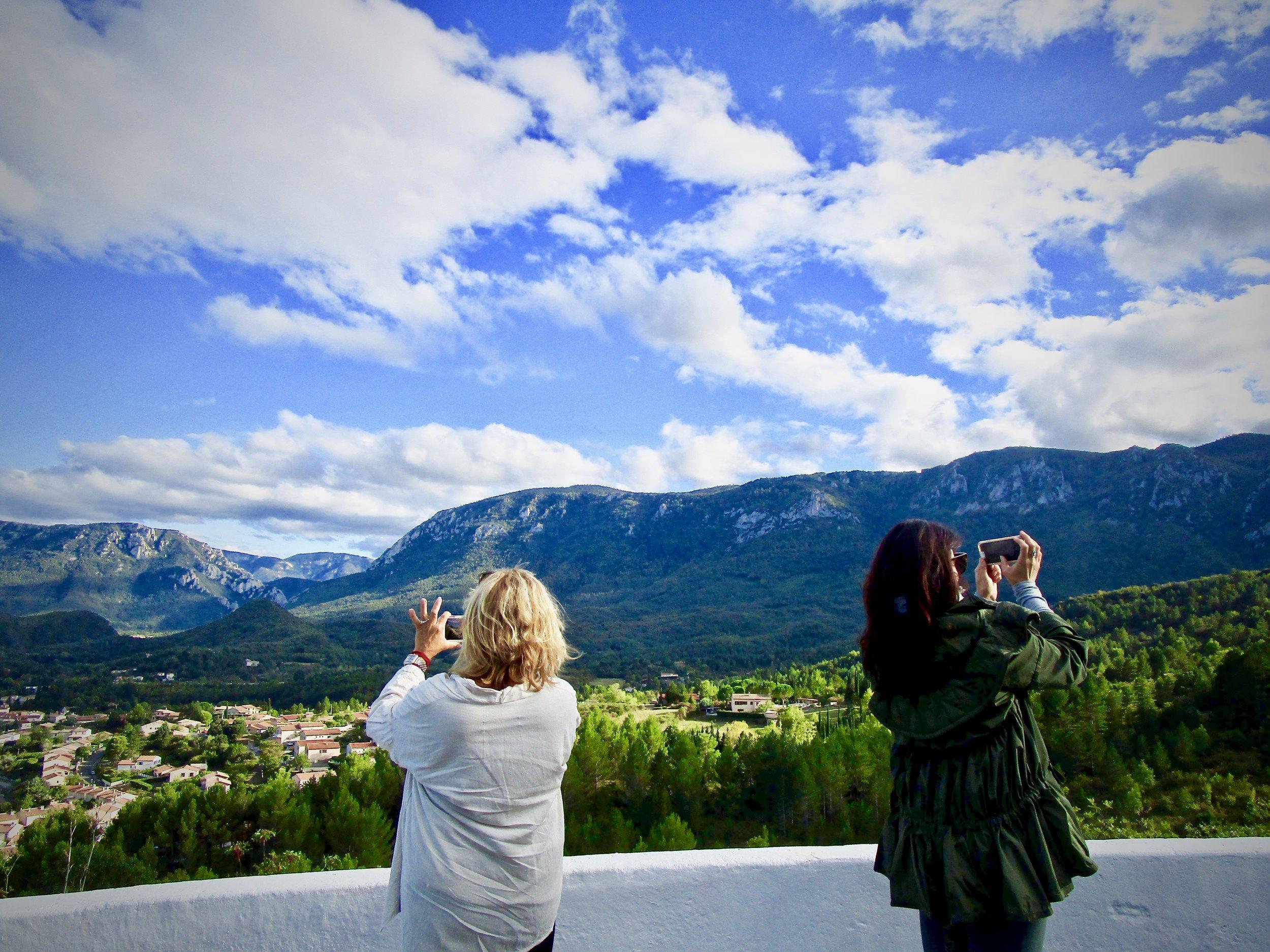 Quillan, France - Taking Tourist Photos 1.jpg