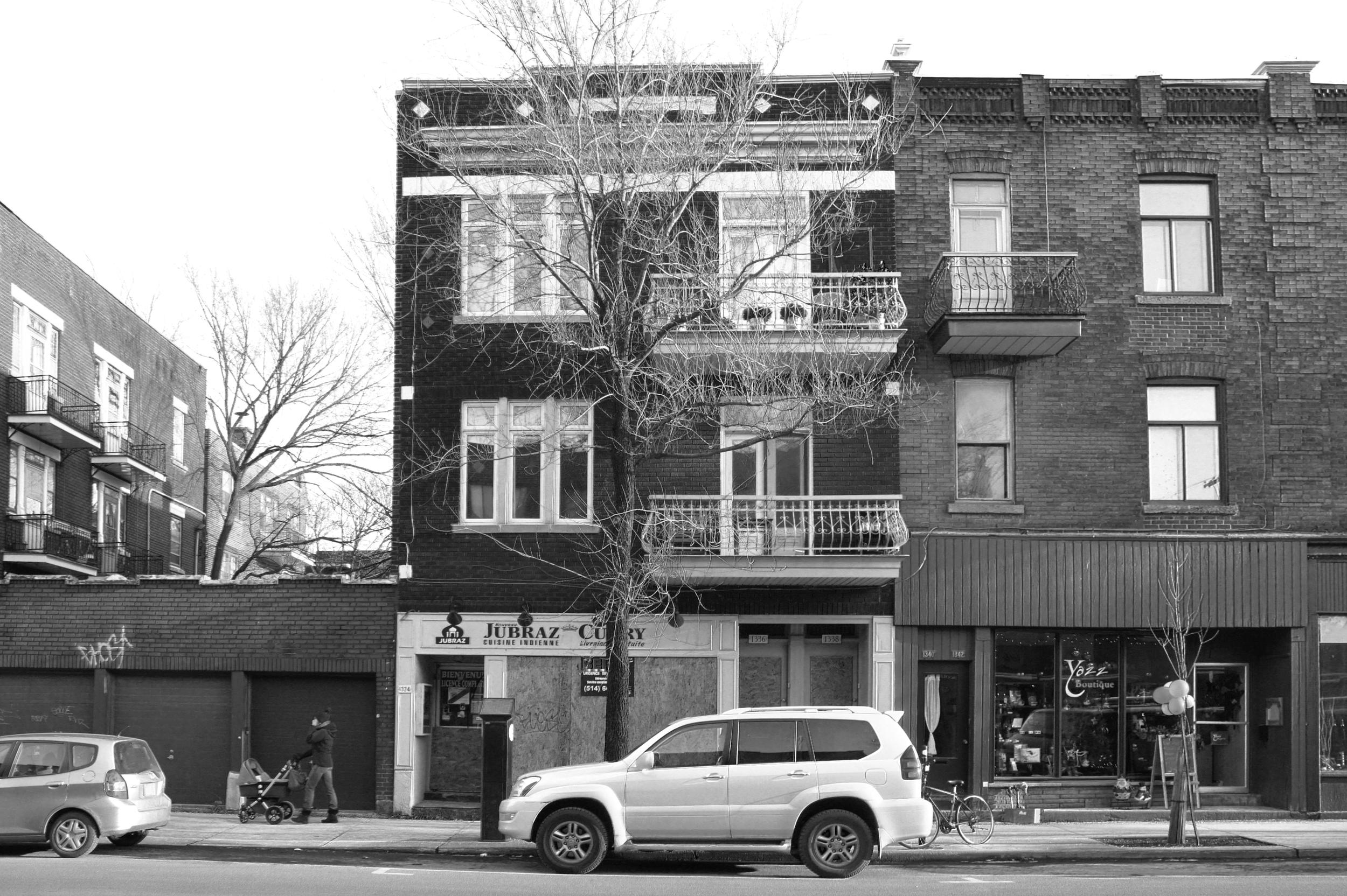 bâtiment existant